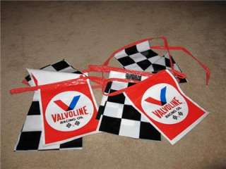 Valvoline Oil Sign Racing Pennets SCCA NHRA Drag Race Funny Car