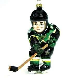 Dallas Stars Nhl Glass Hockey Player Ornament (4)  Sports