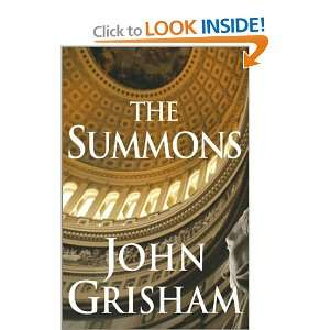 The Summons (Hardcover) John Grisham Books