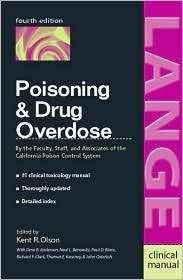 Drug Overdose, (0838581722), Kent R. Olson, Textbooks