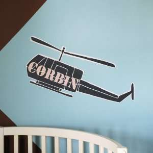 Army Helicopter Wall Decal