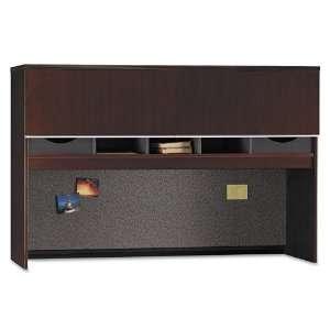 Bush Milano 2 66 Credenza Hutch: Office Products