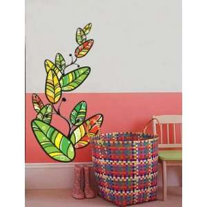 LEAVES Deco Mural Art Wall Paper Sticker Decals ECO 029