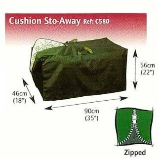 Bosmere C580 Cushion Sto Away Case with Zipper 35 Inch Long x 22 Inch