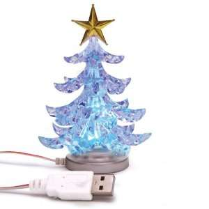 USB Christmas Tree Desk Mini Decor Light For Xmas