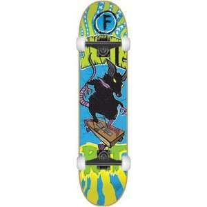 Foundation Skate Rat Complete Skateboard   8.0 w/Mini Logo Wheels