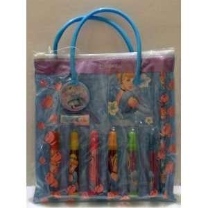 12 Pack Disney Princess Cinderella 11 Piece Stationery