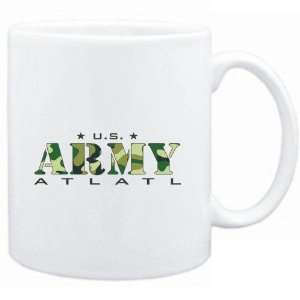 Mug White  US ARMY Atlatl / CAMOUFLAGE  Sports: Sports