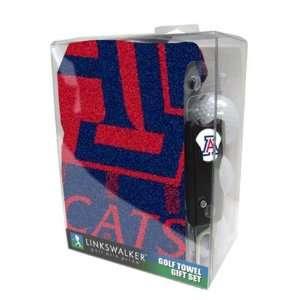 Arizona Wildcats UA NCAA Golf Towel Gift Pack Sports