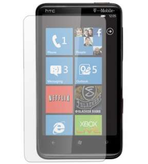 Anti Glare LCD Screen Protector Guard Kit for HTC HD7
