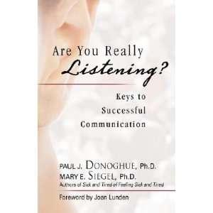 Paul J.(Author) ; Siegel, Mary E.(Author); Lunden, Joan(Foreword by