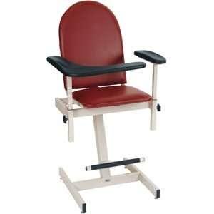 Designer Blood Drawing Chair, color Mauve