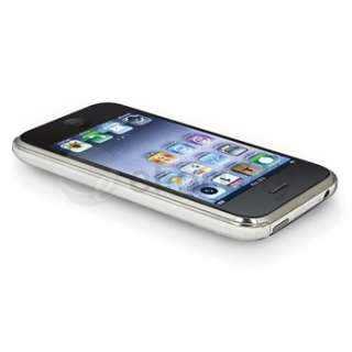 CLEAR ULTRA THIN HARD CASE COVER FOR IPHONE 3G 3GS