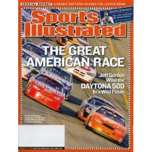Sports Illustrated February 28, 2005 Jeff Gordon Wins