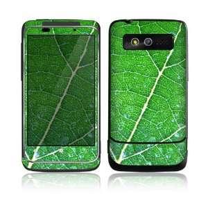 HTC 7 Trophy Skin Decal Sticker   Green Leaf Texture