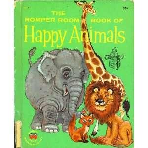 Book of Happy Animals (Romper Room Series): Oscar Weigle, Robert Jones
