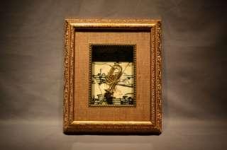 MINIATURE TUBA SHADOW BOX ART HOME WALL DECOR