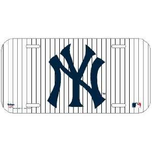 MLB New York Yankees License Plate   Pinstripe *SALE