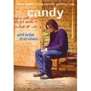 Candy Poster Turkish 27x40 Abbie Cornish Heath Ledger
