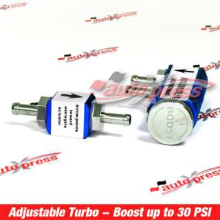 TURBO BOOST CONTROLLER Manual 30PSI JDM Universal BLUE