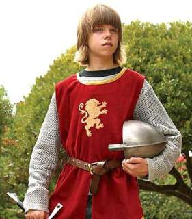 Childs Knight Tunic Mail Medieval Renaissance Costume