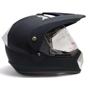 Flat Matte Motocross Dirt Bike MX ATV UTV Dual Sport Hybrid Helmet DOT