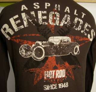 Long Sleeve Thermal T ASPHALT RENEGADES HOT ROD Mag