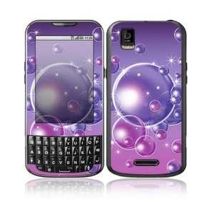 Bubbles Design Decorative Skin Cover Decal Sticker for Motorola Droid