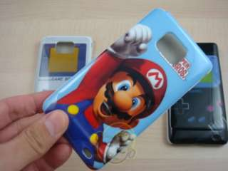 Super Mario and Game Boy Hard case cover For Samsung I9100 Galaxy S2