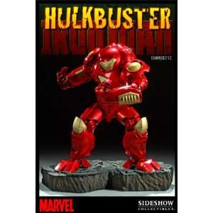 Sideshow Marvel Hulkbuster Iron Man Comiquette Statue Toys & Games