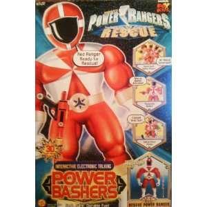 Power Rangers Lightspeed Rescue Power Bashers Red Ranger Toys & Games