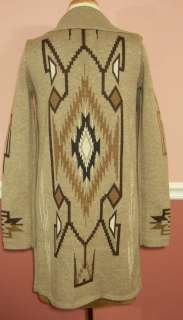 NWT Haute Hippie Inca Sweater Open Front Coat size MEDIUM / LARGE