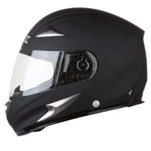 AFX FX 90 Full Face Motorcycle Helmet Flat Black Extra Small XS 0101