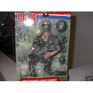 Gi Joe Army Ranger Saws Gunner 2001 Toys & Games