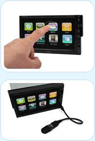 player or other av equipment supports mp3 and wma with id3 tag display