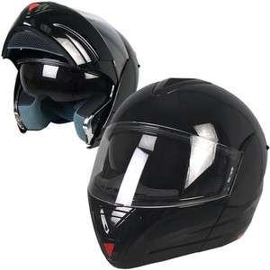 Convertible Full Face DOT Motorcycle Helmet 4 Sizes available fnt