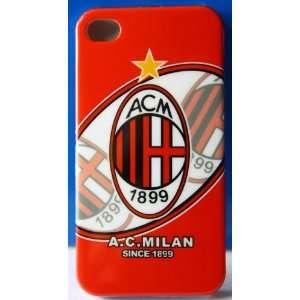 koolshop AC MILIAN Football Club iPhone 4 hard snap on