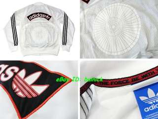ADIDAS STAR WARS TRACK TOP JACKET White Stormtrooper new M