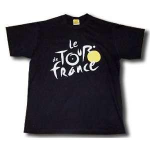 shirt black logo Tour de France