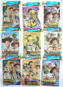48 Toy Story 3 Disney Pixar Coloring Book & Crayon Set