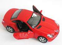 Mercedes Benz SLK350 124 Alloy Diecast Model sports Car red box B1635