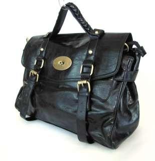 Celeb Style Leather Messenger Shoulder Bag B14