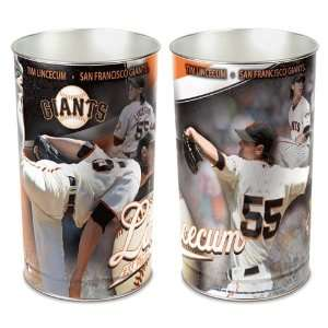 MLB Tim Lincecum Trash Can