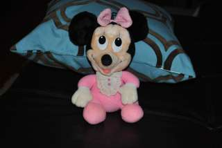 Minnie Mouse Baby Plush PLAYSKOOL 1984 Disney Babies