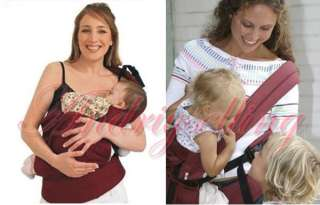 Front & Back Baby Carrier Infant Comfort Backpack Sling Wrap Harness