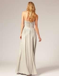 Designer Ted Baker Strapless Maxi Dress 3 12 £249