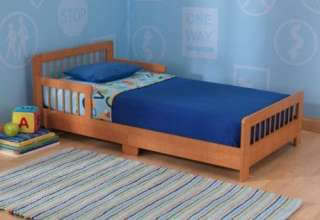 New KidKraft Childrens Kids Wooden Slatted Toddler Bed   Honey