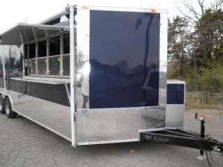 NEW 8.5 X 24 CONCESSION FOOD BBQ CATERING EVENT SMOKER TRAILER