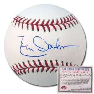 Leon Durham Chicago Cubs Hand Signed Rawlings MLB Baseball