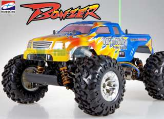 NEW HBX 1/10 CROSS TIGER BONZER XT MONSTER TRUCK RTR RC